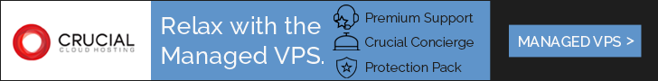 Crucial Managed VPS
